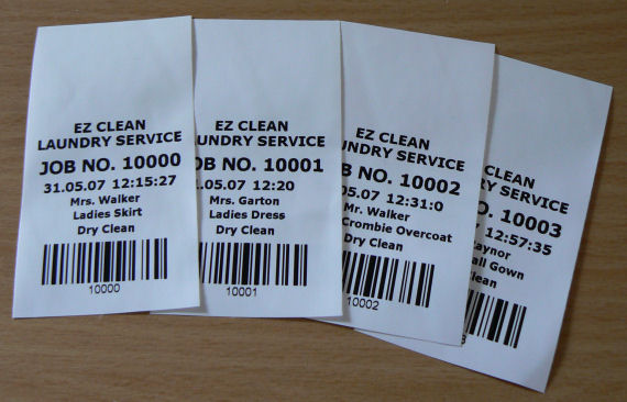 Laundry Labels Laundry Tags Laundry Tickets