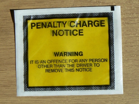 PCN,Penalty Charge Notice Pouch,Penalty Charge Notice Pouches,Penalty Charge Notice