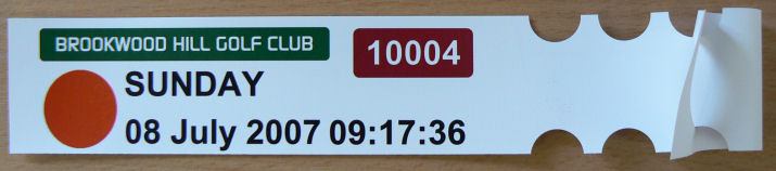 Green Fee Tickets,Green Fee Tags,Golf Bag Tags